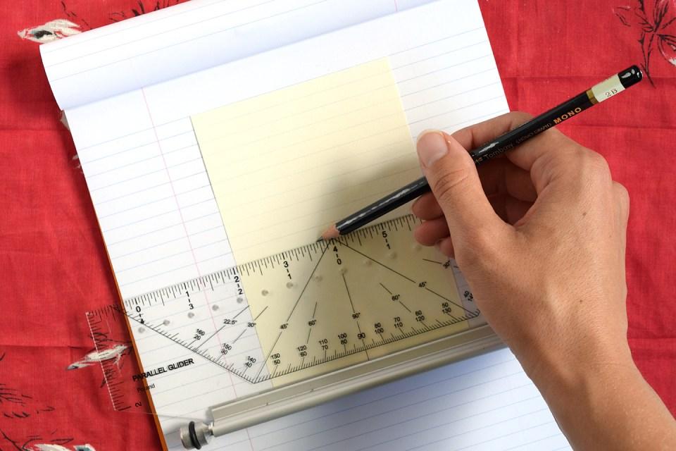Simple Handwritten Recipe Card Tutorial | The Postman's Knock