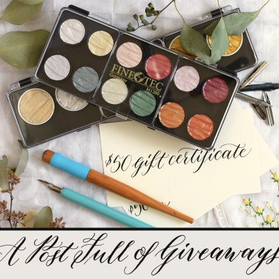 A Post Full of Giveaways