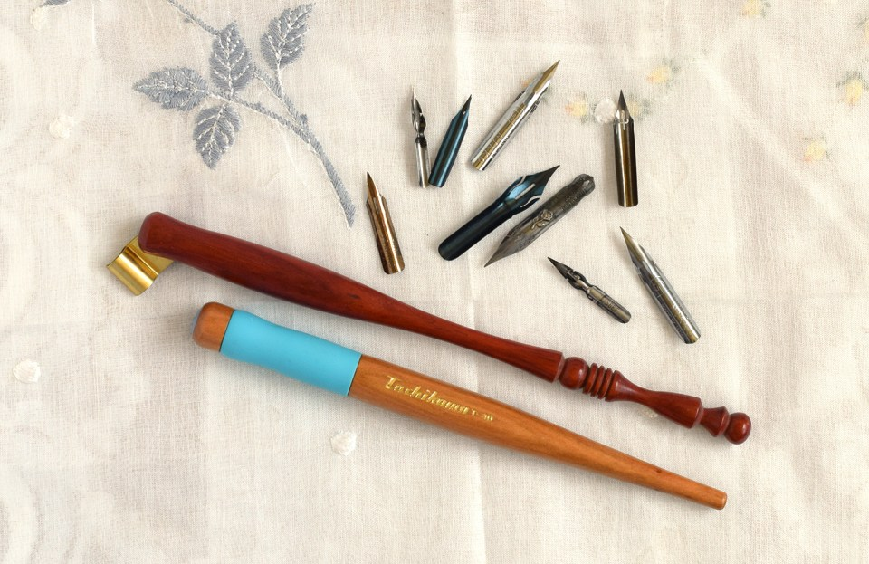 Calligraphy Pens + Nibs | The Postman's Knock