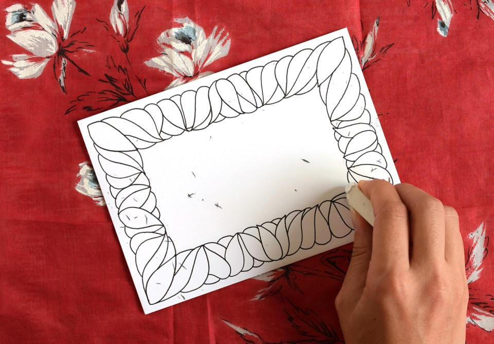 Hand Drawn Frame Tutorial | The Postman's Knock