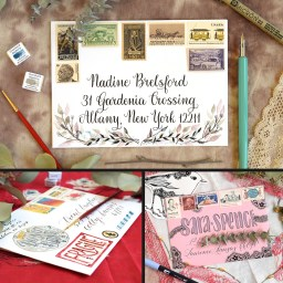 Envelope Art Mini-Tutorial Roundup | The Postman's Knock