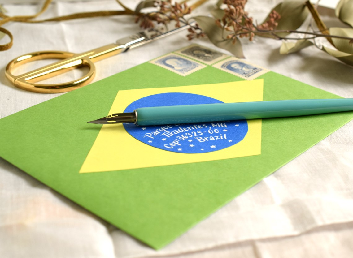 Two International Mail Art Tutorials | The Postman's Knock