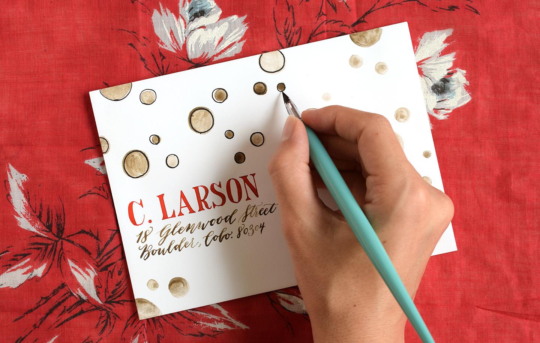 Four Simple Envelope Embellishments: Part I | The Postman's Knock