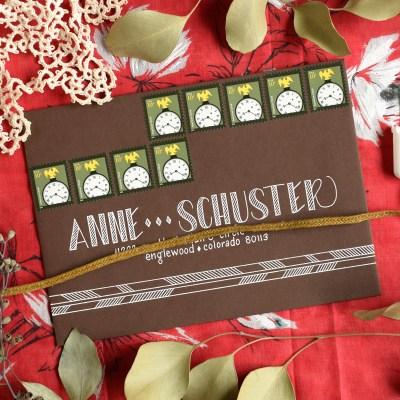 Four Simple Envelope Embellishments: Part II