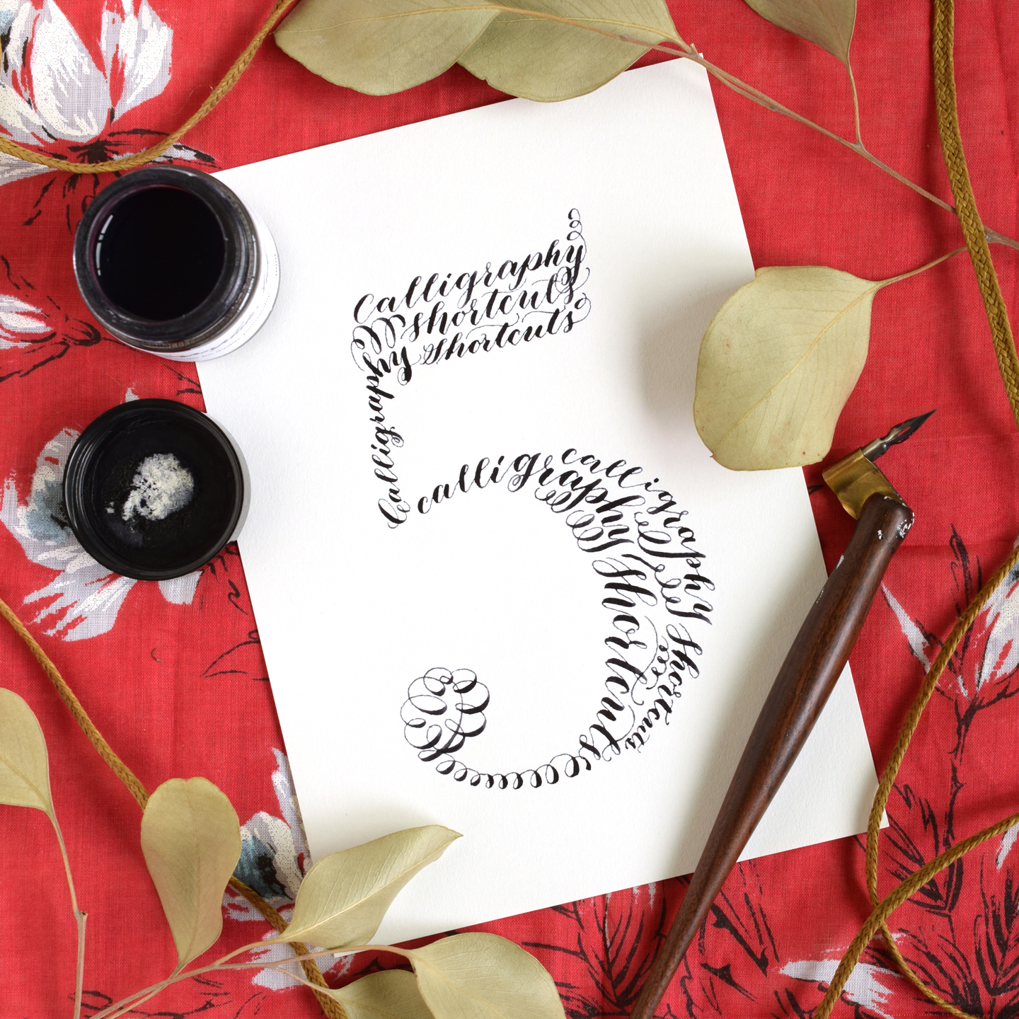 Five Simple Calligraphy Shortcuts | The Postman\'s Knock