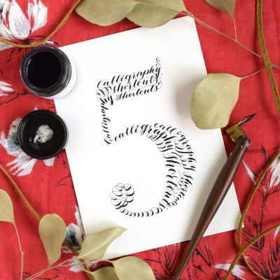 Five Simple Calligraphy Shortcuts