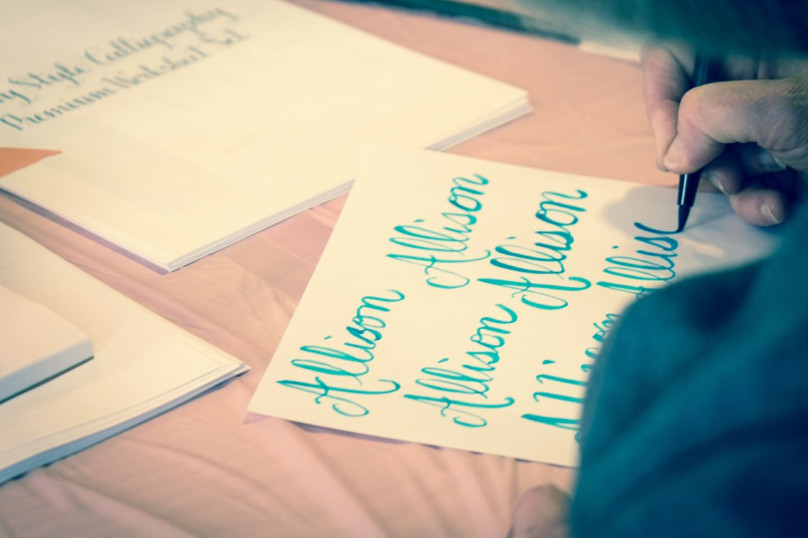 Fall West Coast Modern Calligraphy Workshops | The Postman's Knock