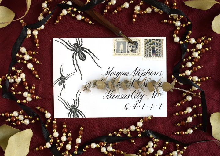 Spider Halloween Mail Art Printables   The Postman's Knock