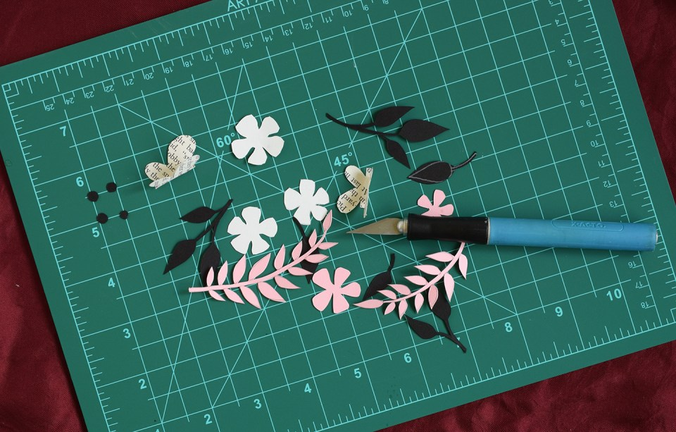 Floral Letter Simple Paper Craft Tutorial The Postmans Knock
