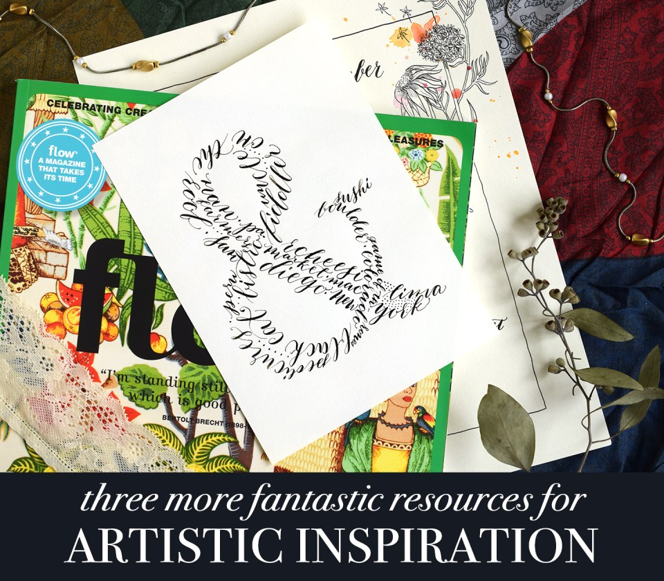 Three More Fantastic Resources for Artistic Inspiration | The Postman's Knock