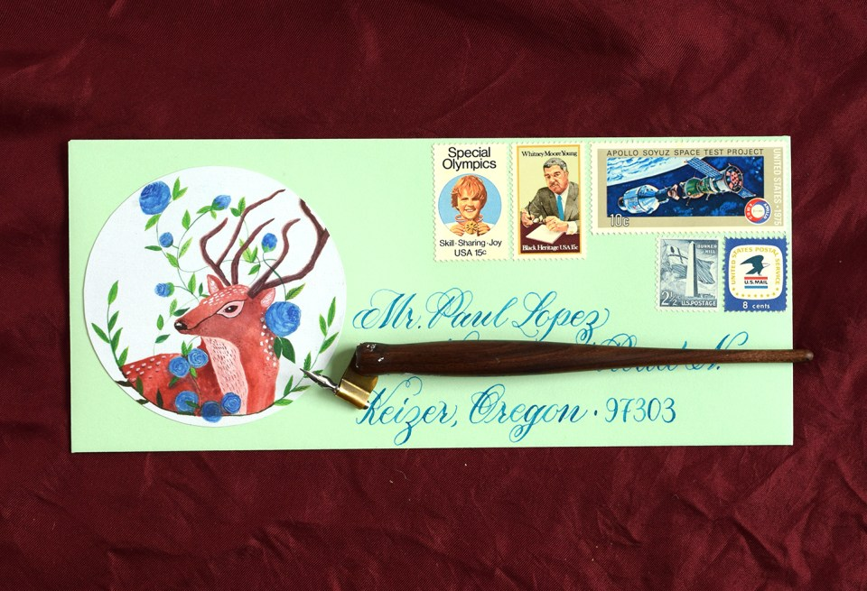 Upcycled Creative Envelope | The Postman's Knock
