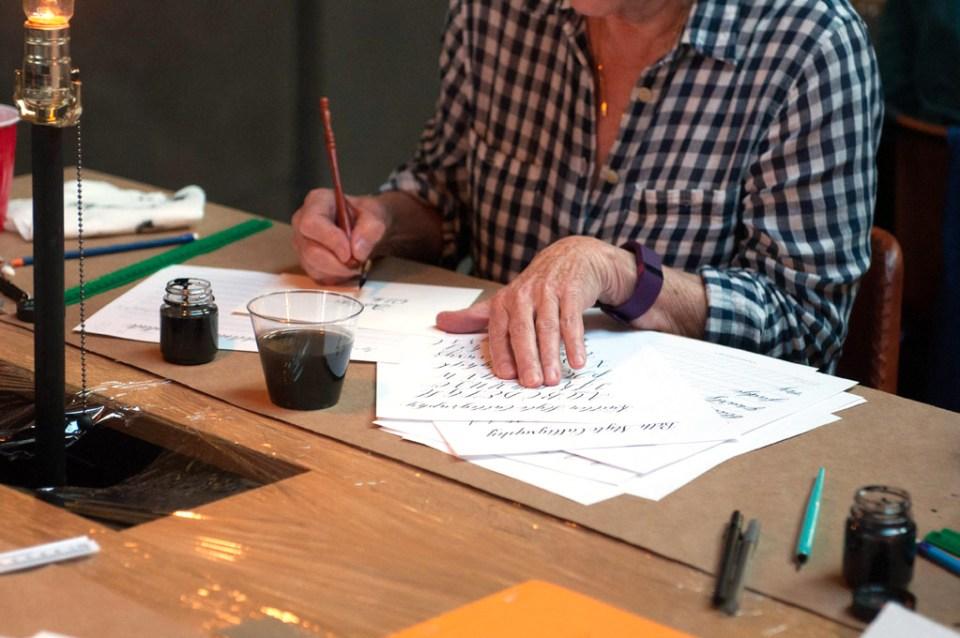 Five Totally Normal Calligraphy Beginner Feelings | The Postman's Knock