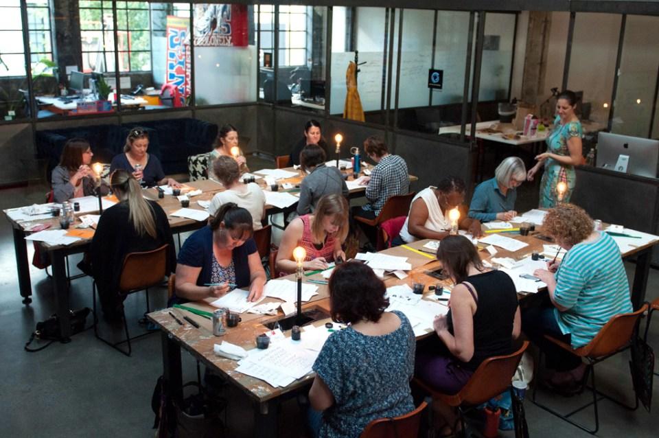 Fall 2016 New York Florida Modern Calligraphy Workshops