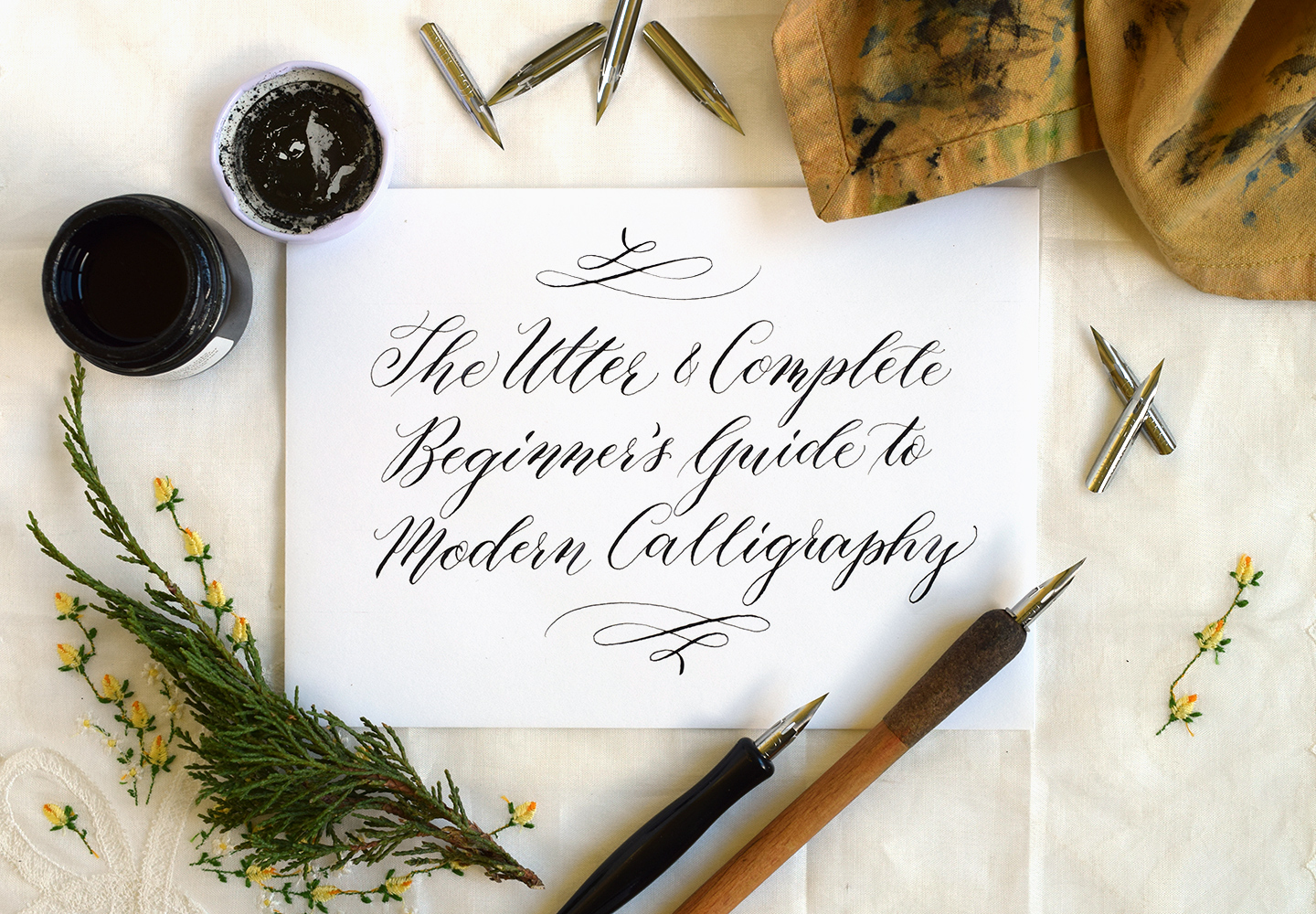 Modern Calligraphy And Hand Lettering Pdf