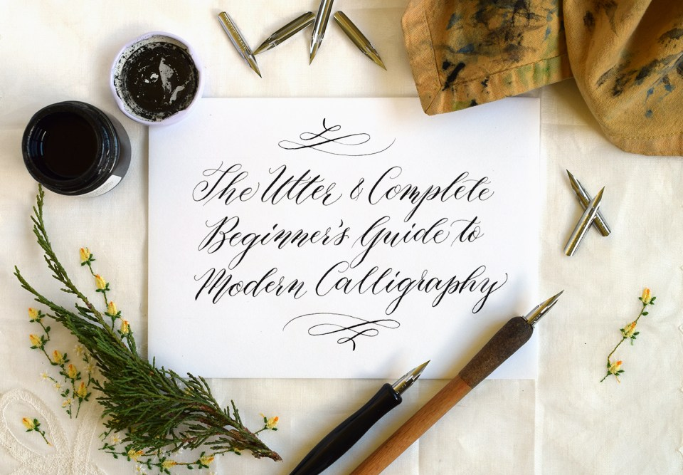 Can you learn calligraphy at home