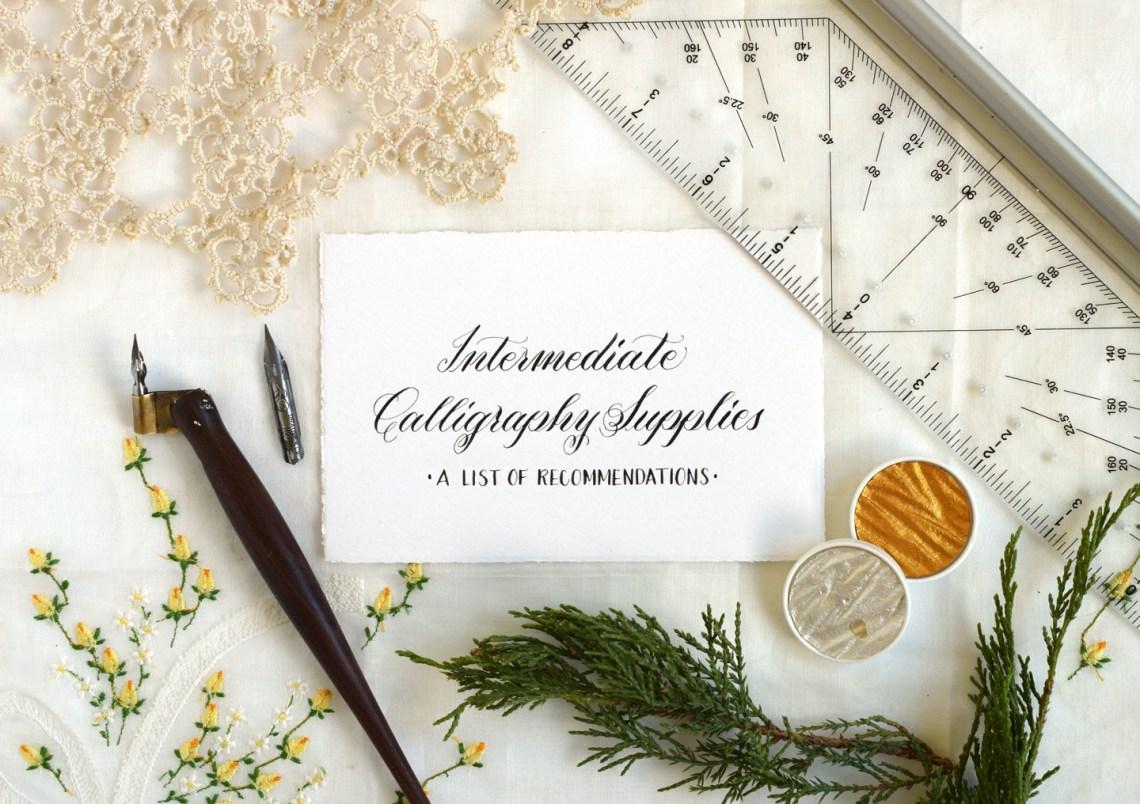 Intermediate Calligraphy Supplies   The Postman's Knock