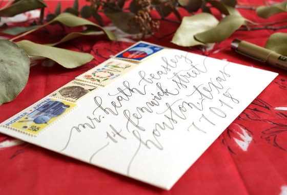 Kaitlin Style Faux Calligraphy Exemplar   The Postman's Knock
