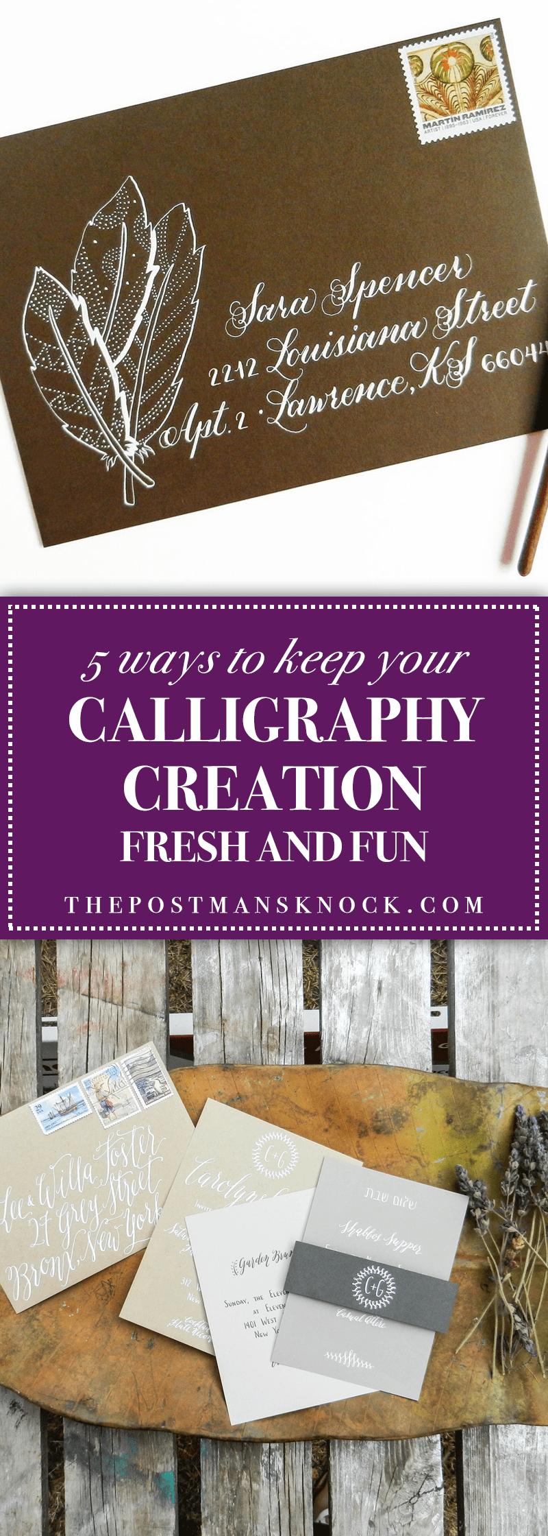 Keep Your Life On Track All Year Long: 5 Ways To Keep Your Calligraphy Creation Fresh And Fun