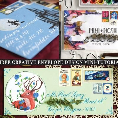 Three Creative Envelope Design Mini-Tutorials