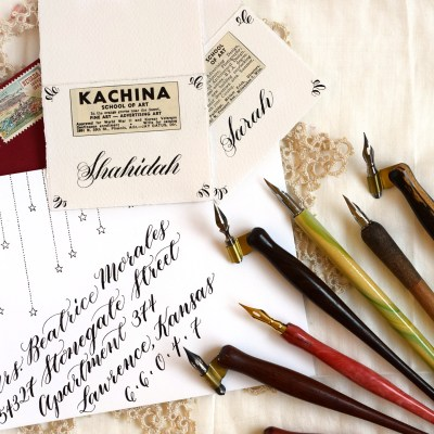 Six Tips for Taming Calligraphy Nibs