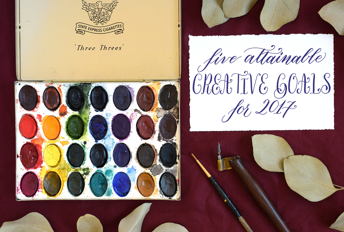 Five Attainable Creative Goals for 2017   The Postman's Knock