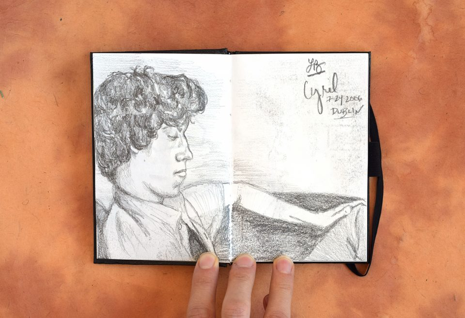 Sketch of a Boy in Dublin | The Postman's Knock
