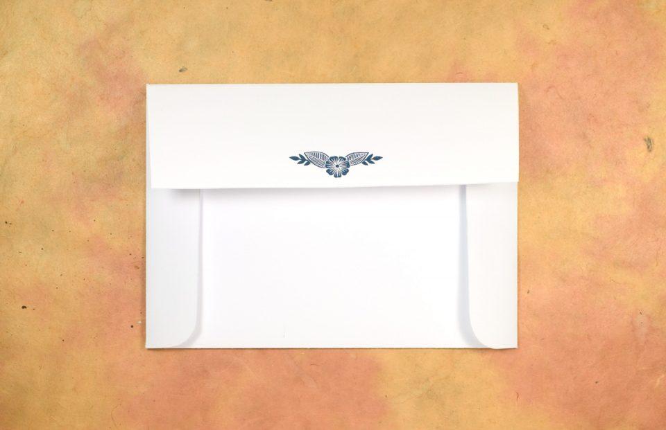 (Free!) Block Printed Envelope Template | The Postman's Knock