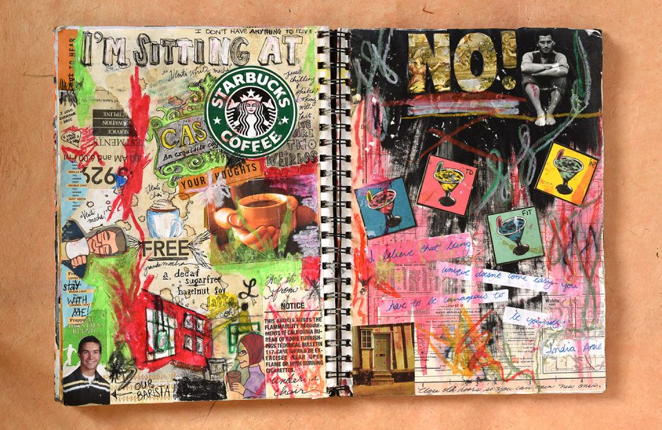 Sketchbook Journal   The Postman's Knock