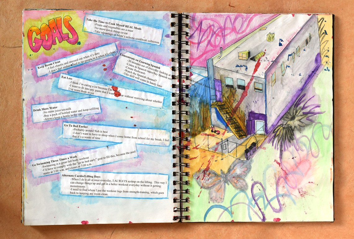 How to make a sketchbook journal and why you should the postmans