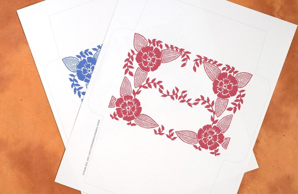 printable envelope