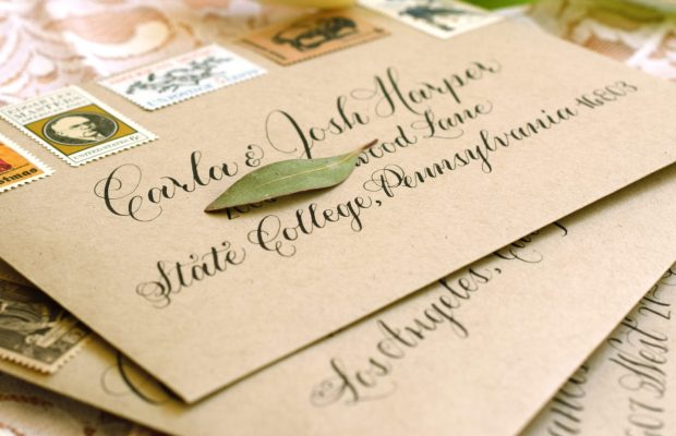 One of the topics we'll cover int his workshop is how to make a perfectly centered, elegant calligraphed envelope.