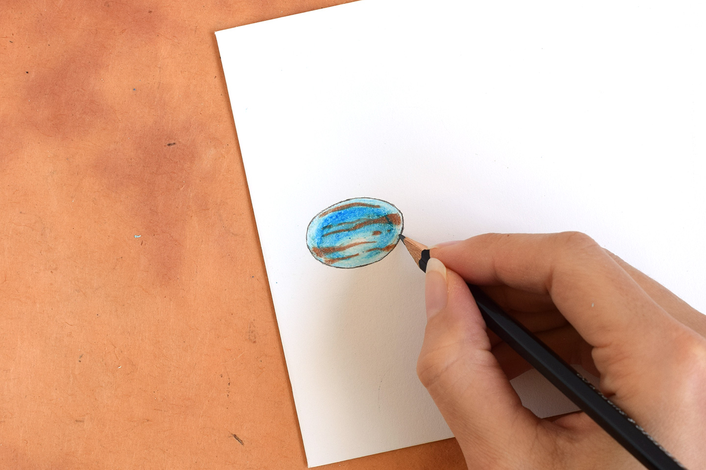 How to Draw Gemstones with Crayons | The Postman's Knock