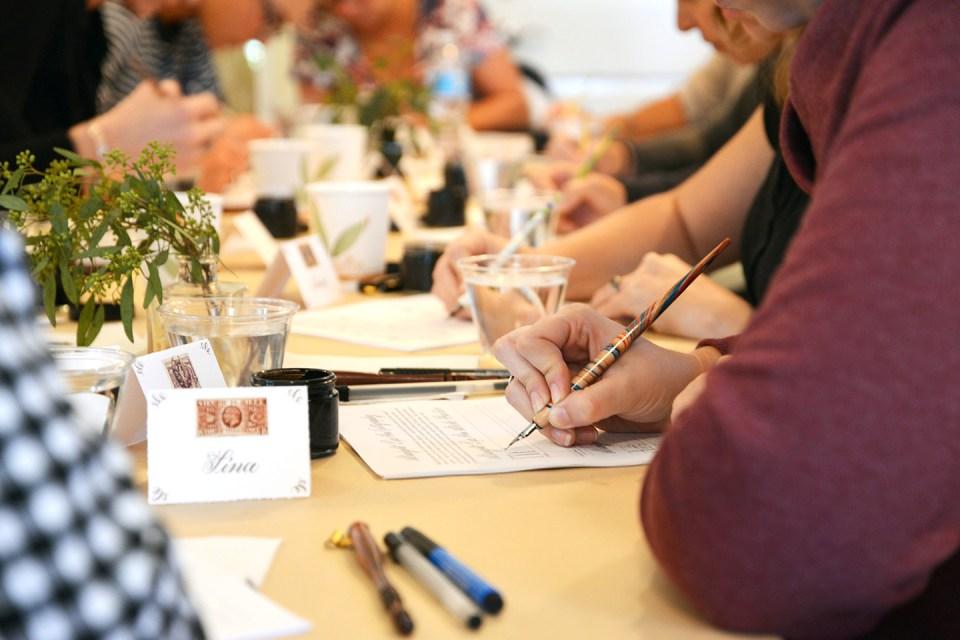 TPK Boulder Modern Calligraphy Workshop   The Postman's Knock