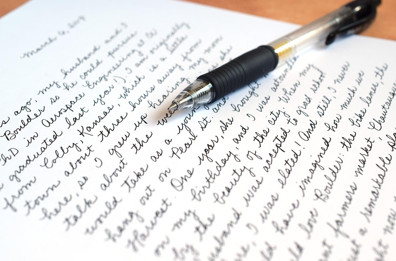 who to improve handwriting