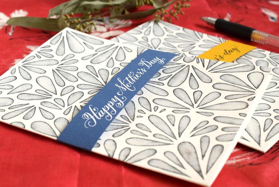 Elegant DIY Mother's Day Card Tutorial | The Postman's Knock
