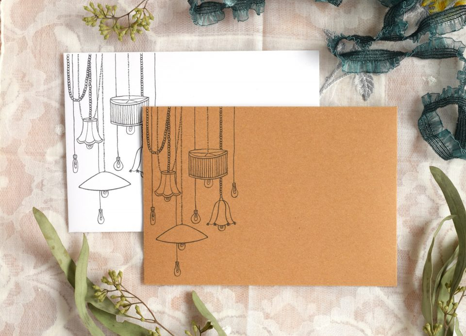 Luminous Printable Envelope Template | The Postman's Knock
