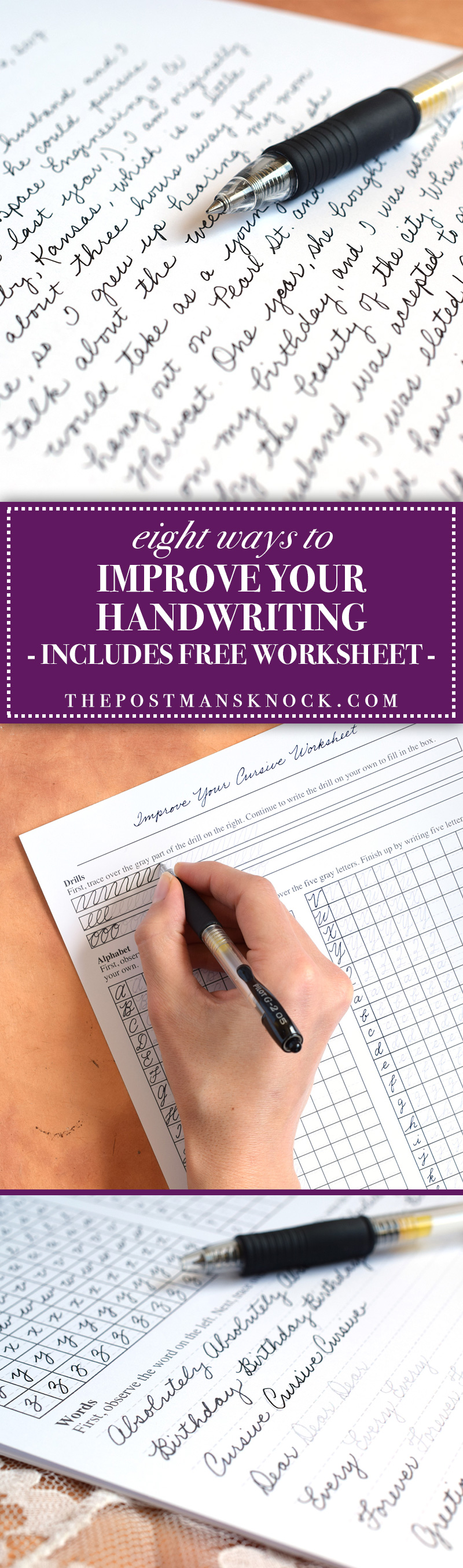Tips to Improve Your Handwriting Plus a Free Worksheet – Improve Handwriting Worksheets