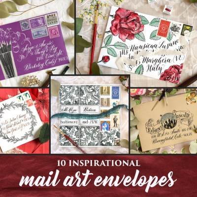 10 Inspirational Mail Art Envelopes