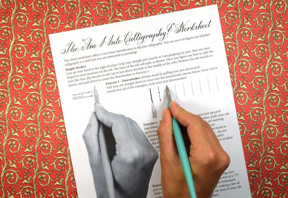 Free calligraphy numbers worksheets for all download and share