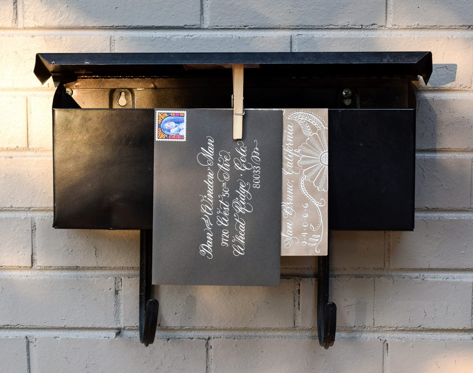 Dan the Window Man Envelope | The Postman's Knock