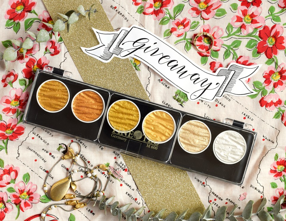 Creating Gold Calligraphy: How to Use the Finetec Palette   The Postman's Knock