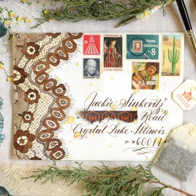 How to Make a Stunning Postage Stamp Collage