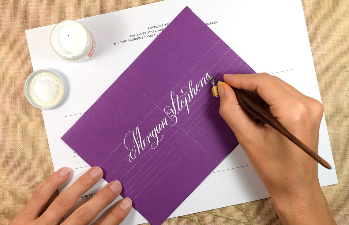 Calligraphy Guidelines | The Postman's Knock