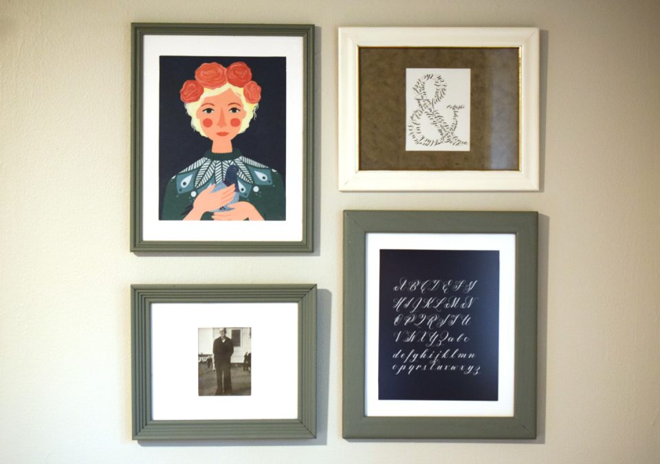 How To Frame Artwork On The Cheap The Postmans Knock