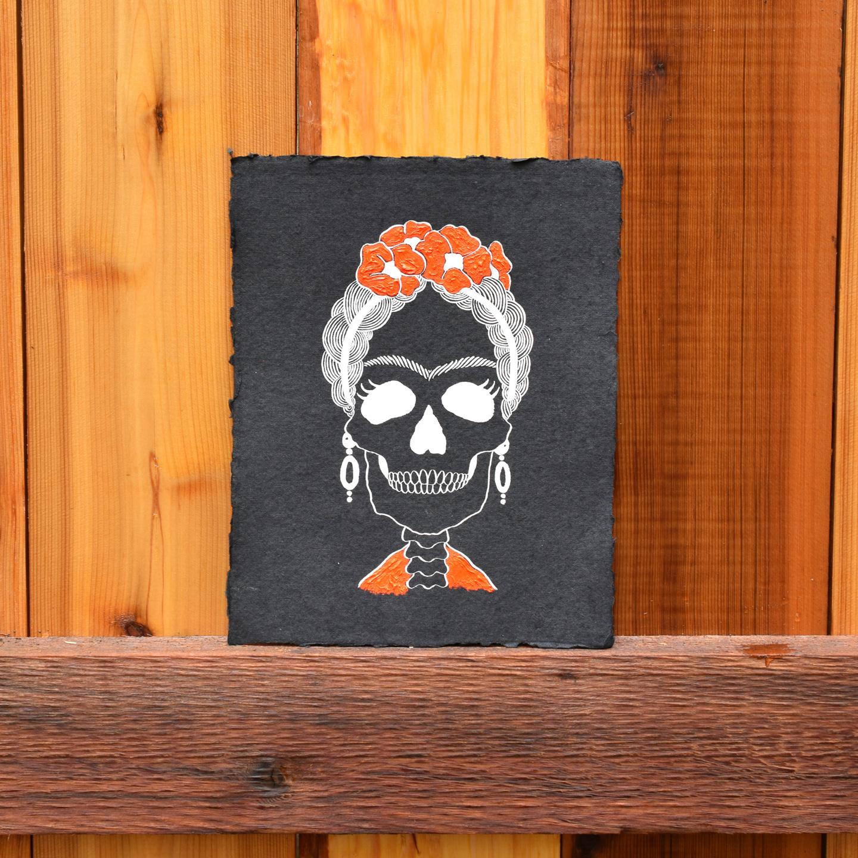 Frida Kahlo 8 X10 Halloween Art Printable