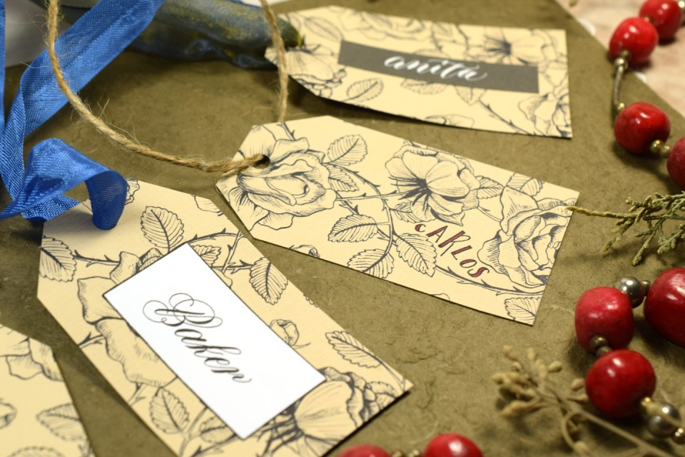 Easy Vintage Gift Tags Tutorial   The Postman's Knock