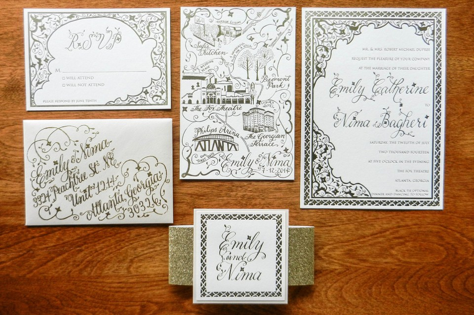 10 Artistic Wedding Invitation Ideas | The Postman's Knock