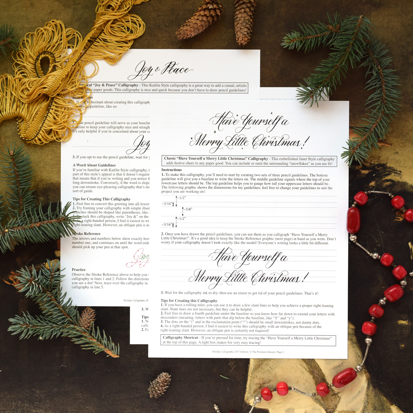 Tpk holiday calligraphy worksheet 2017 edition the postmans knock tpk holiday calligraphy worksheet 2017 edition solutioingenieria Image collections