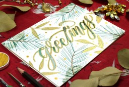 Embellished Winter Greeting Card Tutorial   The Postman's Knock