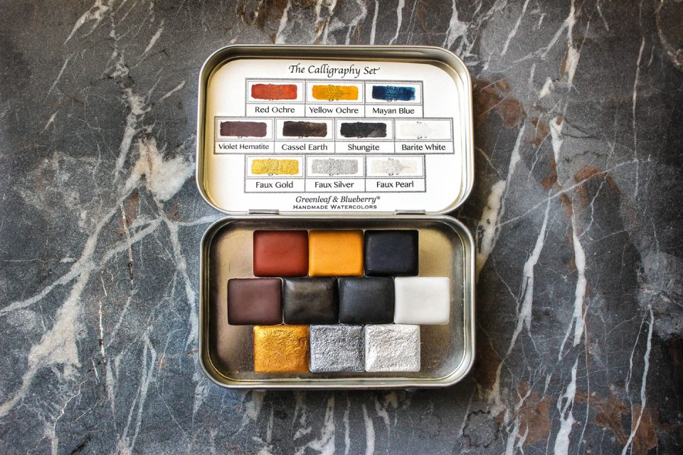 The Essential Calligraphy Travel Kit | The Postman's Knock